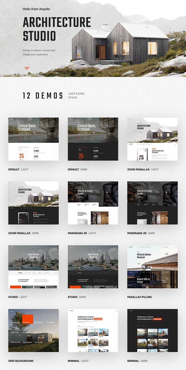 Download Architecture & Interior Landing Page