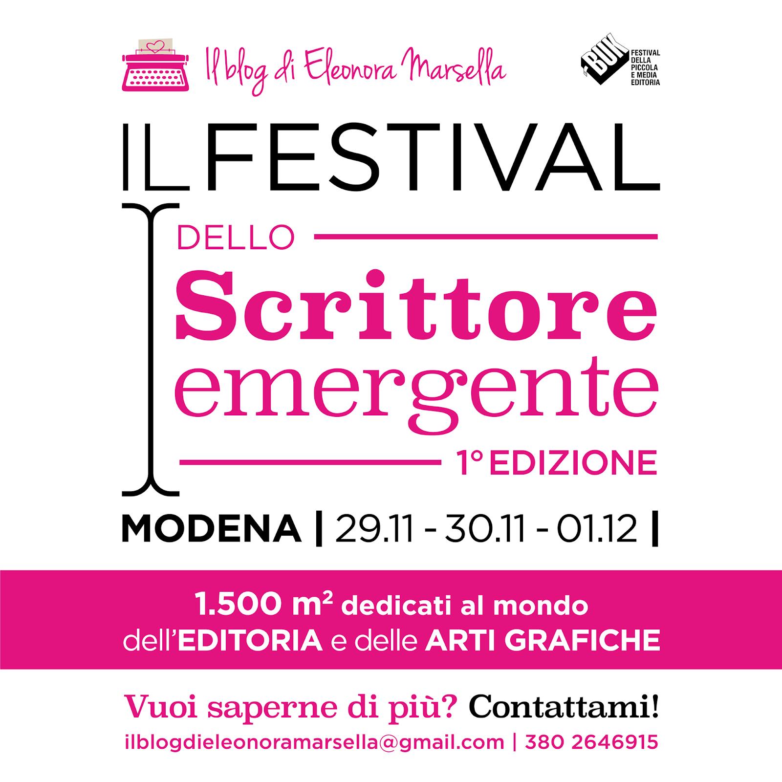 Il Festival dello scrittore emergente