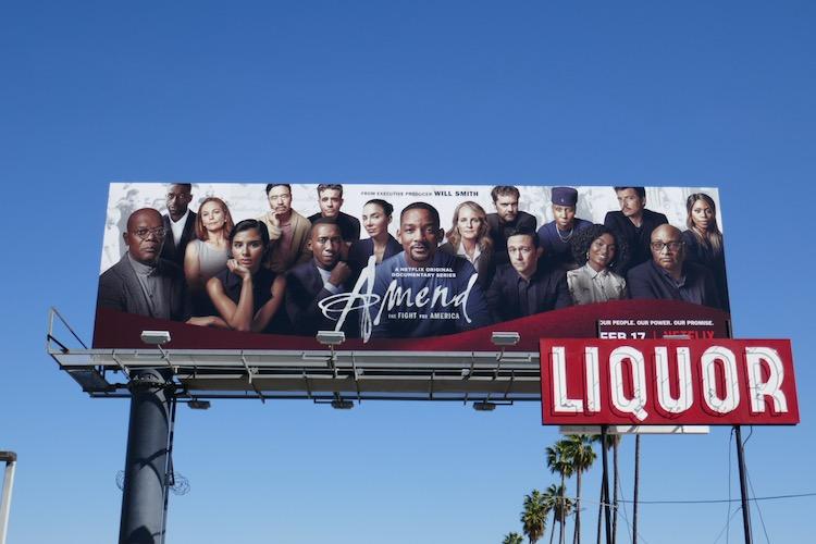 Amend Fight for America billboard