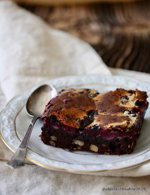Kuchen mit Blaubeeren