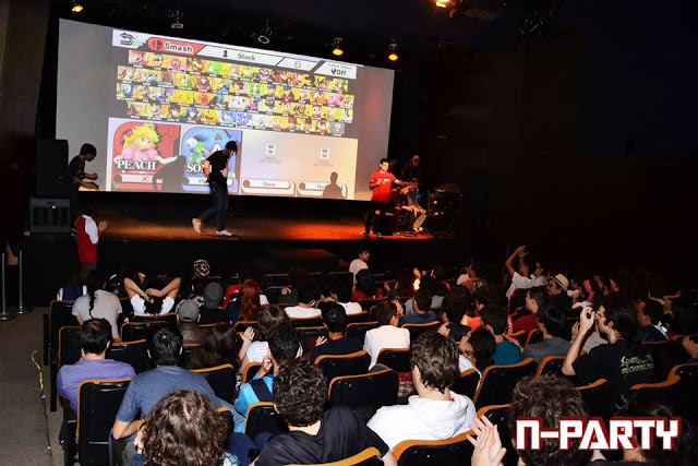 Campeonato de Super Smash Bros. for Wii U no MIS-SP