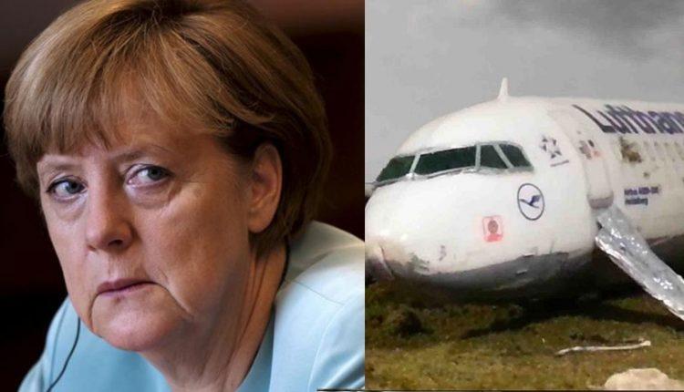 Ποιος ήθελε να πέσει το αεροπλάνο που μετέφερε την Μέρκελ;