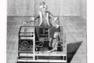 Den ursprungliga schackspelande mekaniska turken