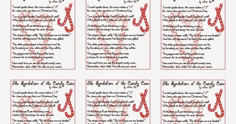 graphic regarding Candy Cane Poem Printable named Alana Lee Programs ~ Personalized Image Goods with Identity