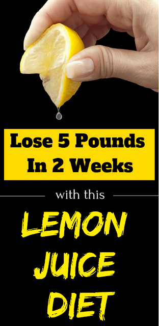Lose 5 Pounds In 2 Weeks & This Lemon Juice Diet