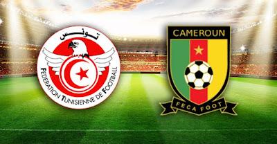 مشاهدة مباراة تونس والكاميرون