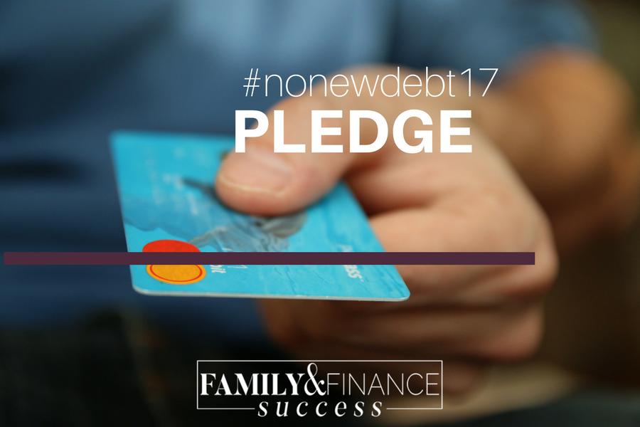 #nonewdebt17 pledge