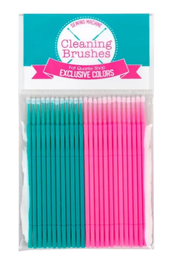 Sewing machine cleaning brushes - Fat Quarter Shop | 2019 Holiday Stocking Stuffer Guide for Quilters | Shannon Fraser Designs #notionsandtools #fatquartershop #cleaning #quilting
