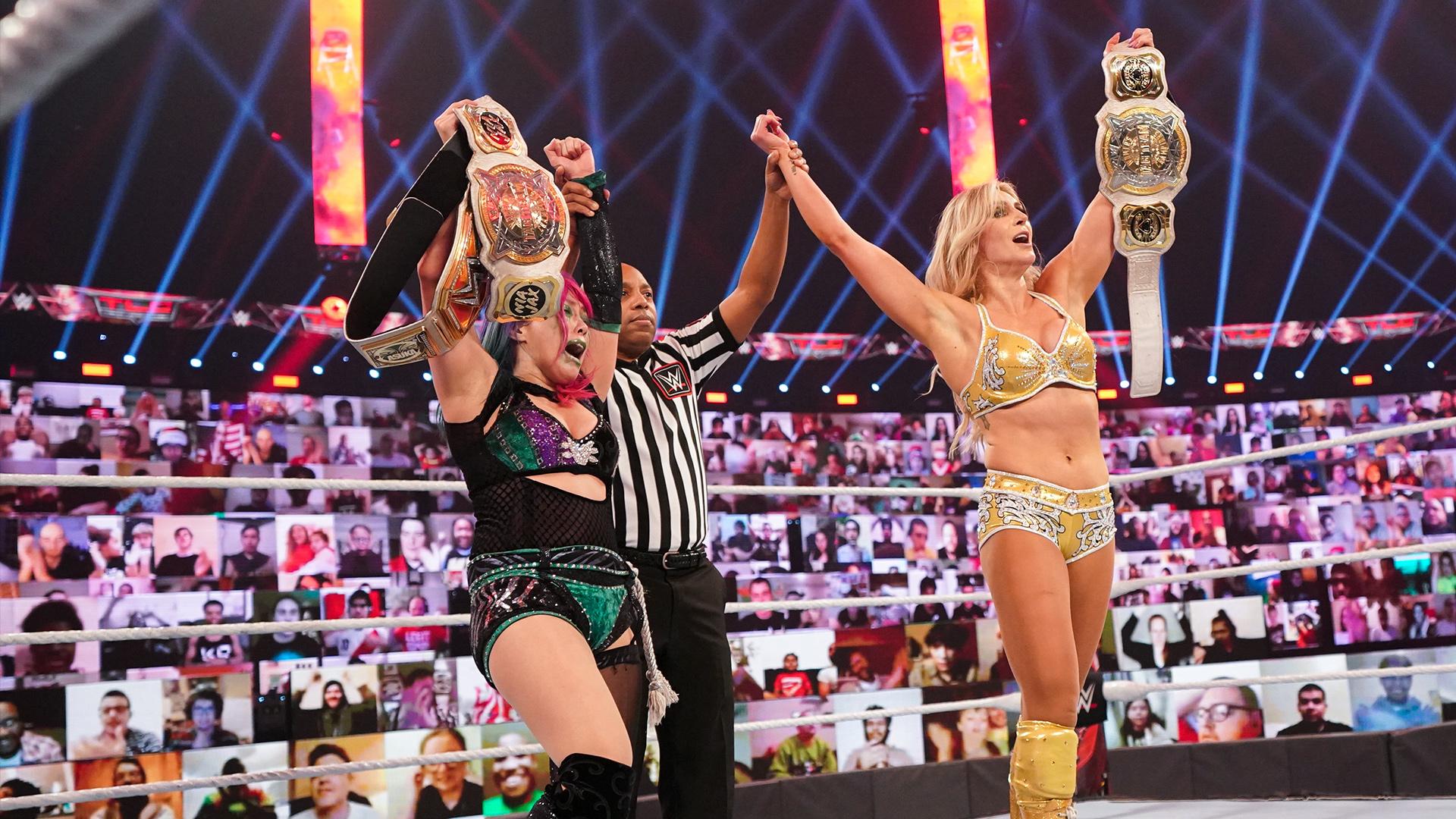 Asuka quebra novo recorde no WWE TLC
