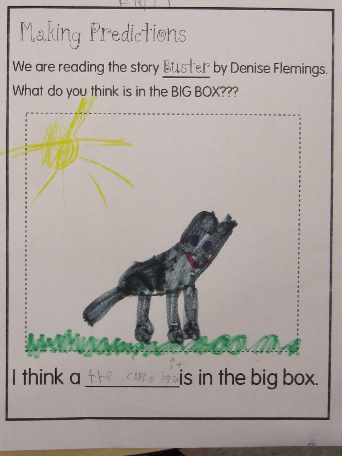 Kc Kindergarten Times Making Predictions