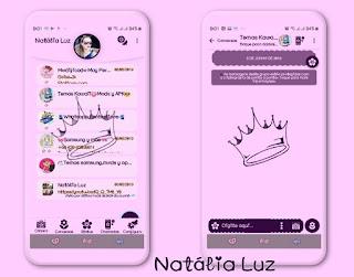 King Theme For YOWhatsApp & Fouad WhatsApp By Natalia Luz