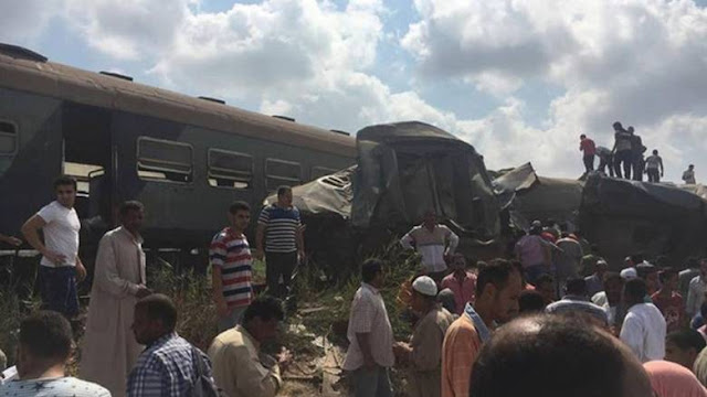 Σύγκρουση τρένων με δεκάδες νεκρούς και τραυματίες στην Αλεξάνδρεια