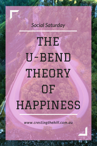 The U-Bend Theory of Happiness suggests that our well-being tends to follow a U-shape from early adulthood to old age.
