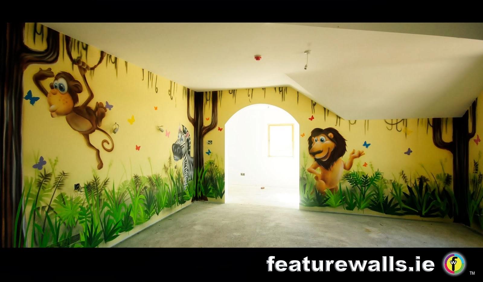 Wall Decal Quotes Jungle Wall Art Fantastic Jungle Wall