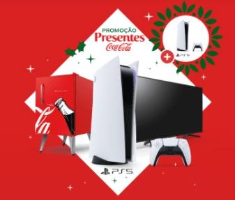 Cadastrar Promoção Presentes Coca-Cola Playstation 5