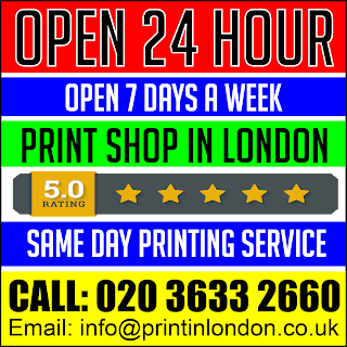 24 hour printing London