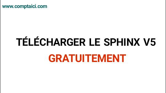 GRATUIT V5 TÉLÉCHARGER SPHINX LOGICIEL