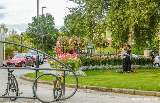 Jardins públicos de Bath, Inglaterra