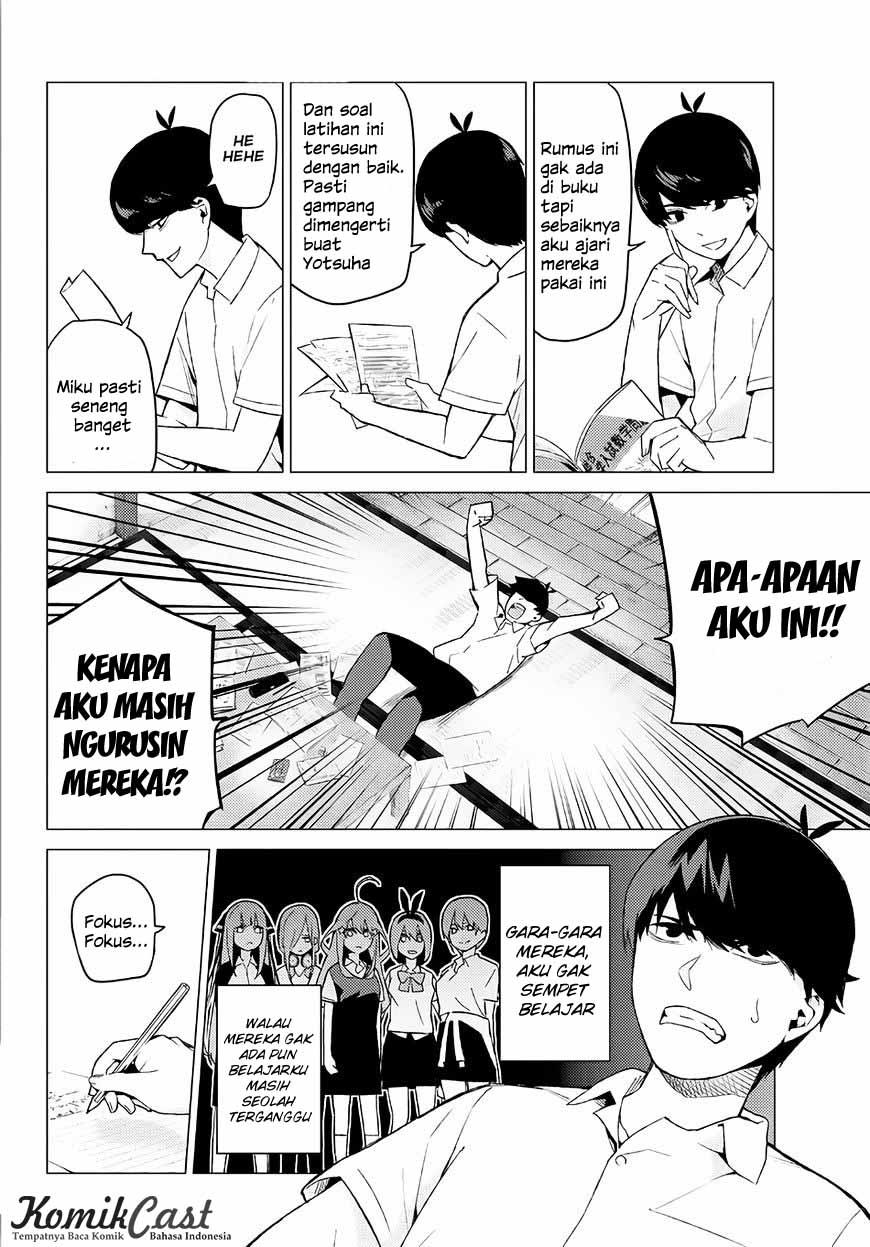 Go-toubun No Hanayome Chapter 7
