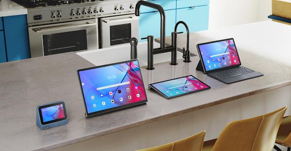 Tablets Elegantes da Lenovo e Smart Clock Ajudam a Simplificar a Sua Casa Conectada