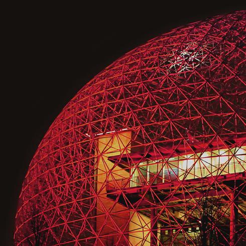 Biosphere Montreal Quebec