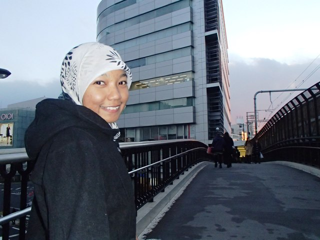 Suasana kota Kobe