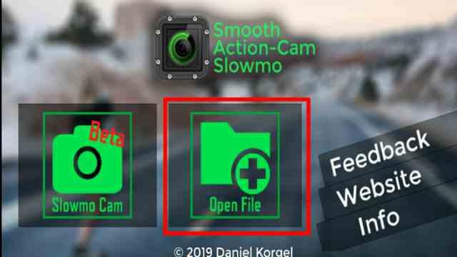 Cara membuat video slowmotion halus