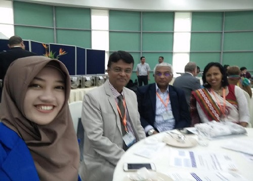 With Fellow Colleagues at IMEC-2016, Malaysia