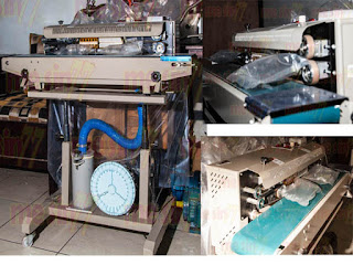 Mesin Continuous Band Sealer with Gas Filling