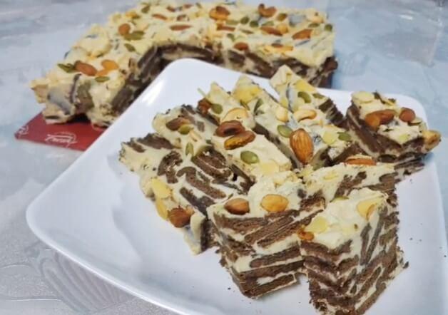 Kek Batik Horlicks Cheese Milky