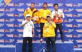 Sampai Hari ini , Lima Emas Berhasil Di Boyong Kontingen NTB Pada Pon XX Papua