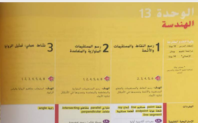دليل المعلم رياضيات صف رابع الفصل الثالث