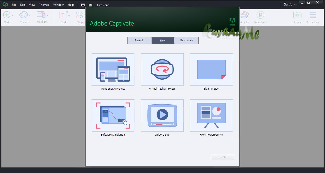Adobe Captivate terbaru