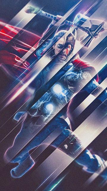 Thor phone wallpaper