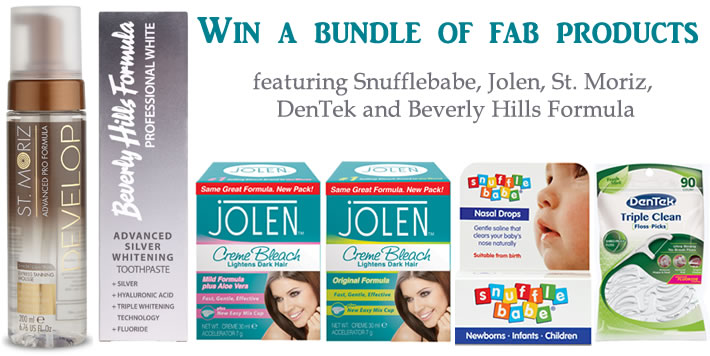 Win a bundle of daily essentials - DB Reviews