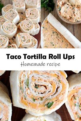 Taco Tortilla Roll Ups