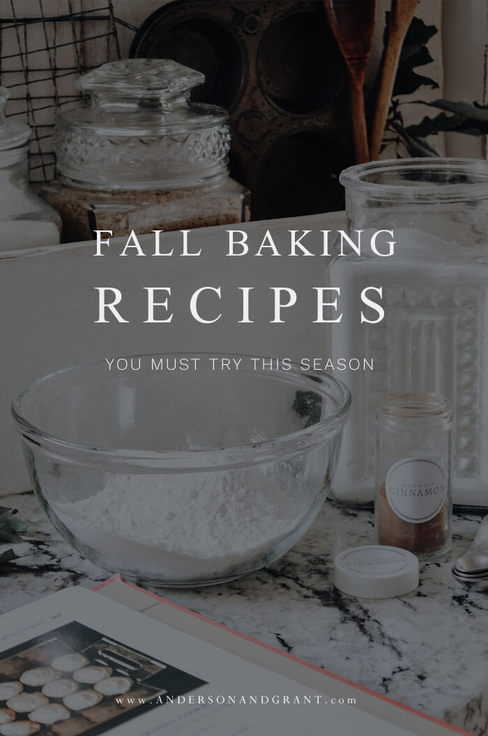 A collection of over 15 recipes you must try for your fall baking this year featuring cookies, cakes, muffins, pies, and more