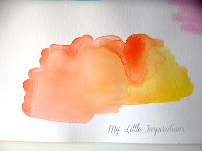 Watercolor Experiments - My Little Inspirations