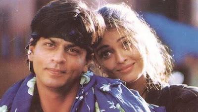 Sharukh khan and Aishwarya rai in Josh movie