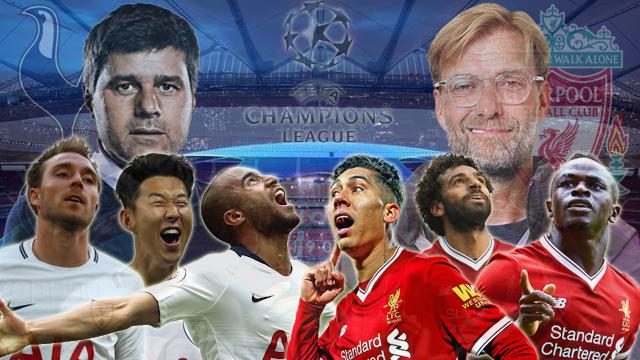 Prediksi Final Liga Champions Tottenham Hotspur vs Liverpool (02 Juni 2019)