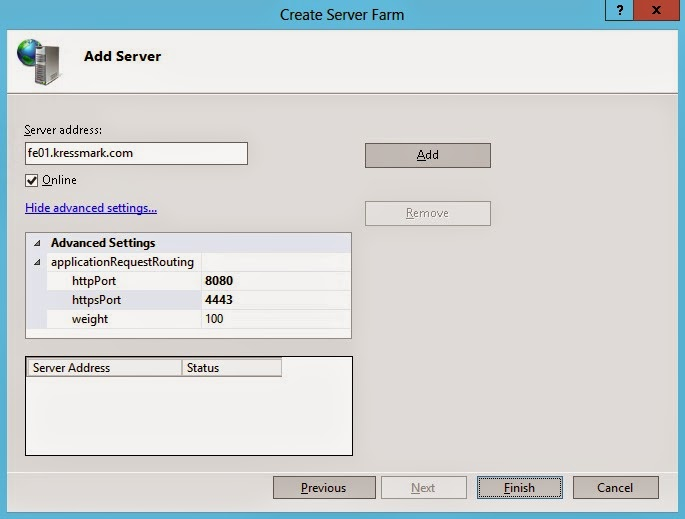 Kressmark Unified Communications: Using IIS ARR as a Reverse