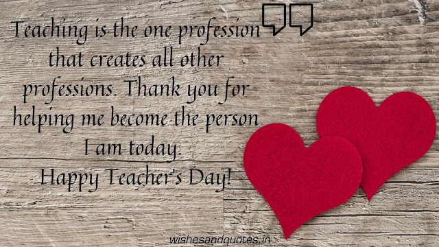 teachers day quotes in english with images