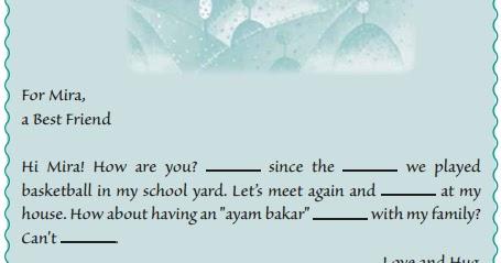 Contoh Teks Rumpang Greeting Card Smp Soal Jawaban Englishahkam