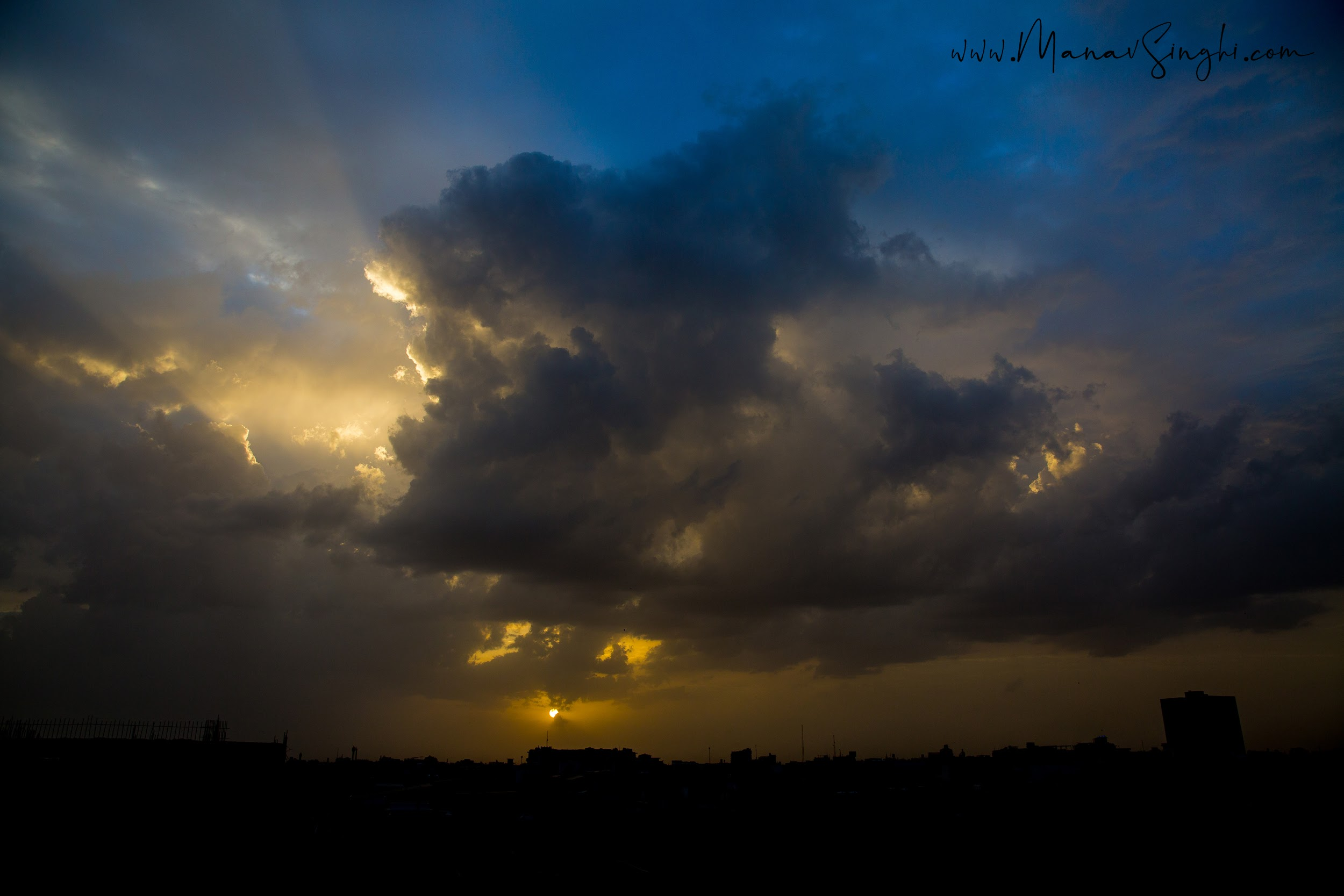 Today's Sunset - Jaipur