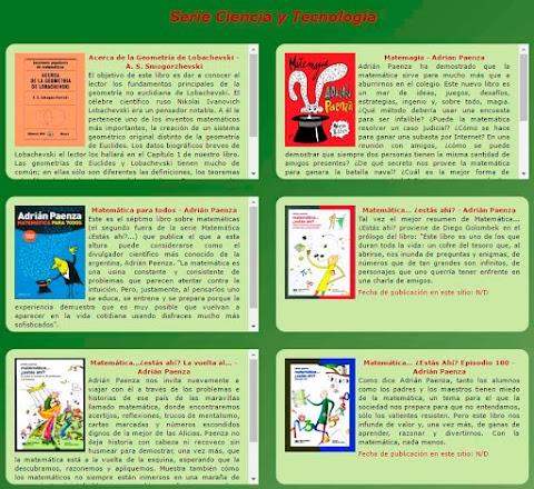 LIBROS MARAVILLOSOS: Colección de libros gratuitos en PDF y EPUB
