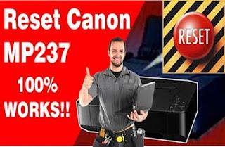 Printer Canon MP237 Error Lampu Orange Berkedip