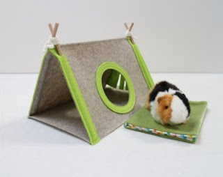 Hamster bed & breakfast