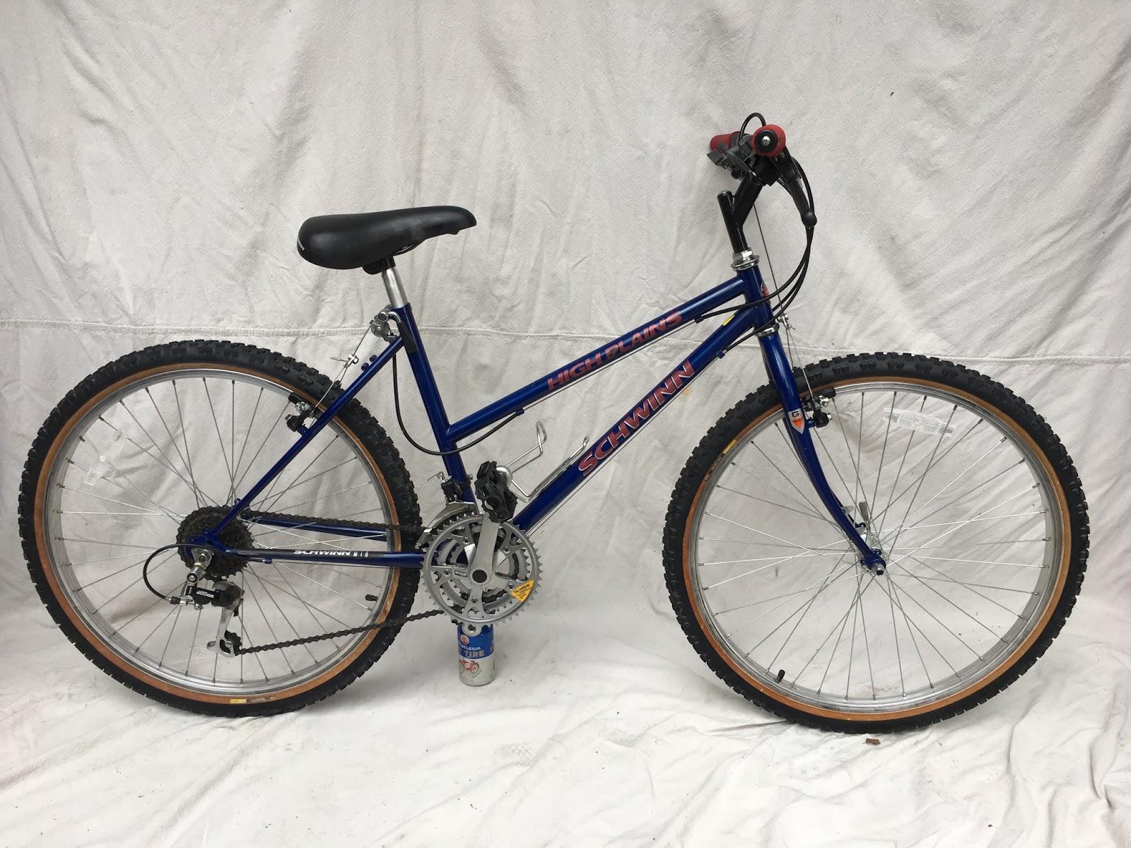 1f68fbefb28 1990 Red Schwinn High Plains 21 Speed Step Thru Mountain Bike- SOLD ...