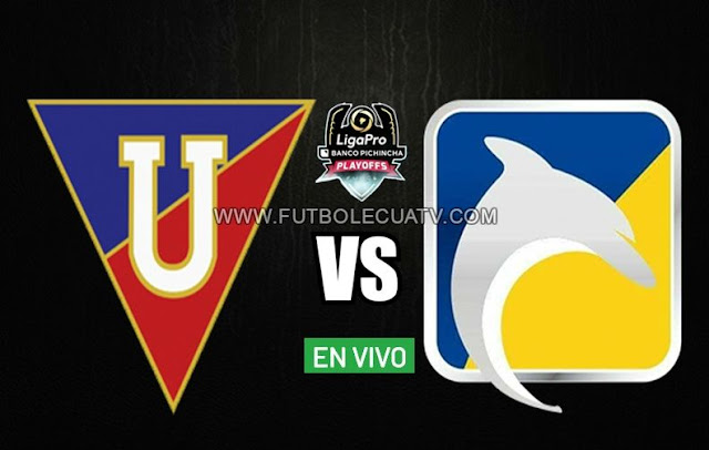 Liga de Quito recibe a Delfín en vivo a partir de las 19:00 horario de nuestro país por la final ida Play Off de la Liga Pro a efectuarse en el estadio Rodrigo Paz Delgado, siendo el árbitro principal a mencionar luego con transmisión del medio autorizado GolTV Ecuador.