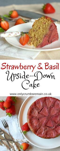 How to make Strawberry & Basil Upside Down Cake